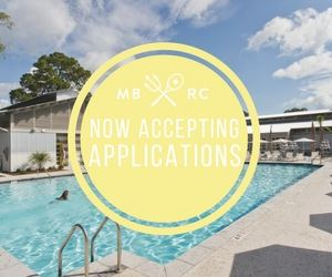 Mixson Bath & Racquet Club Accepting Applications