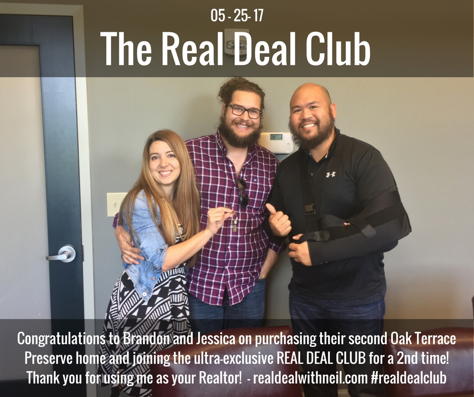 Real Deal Club Inductees: Brandon and Jessica