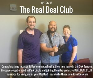 Real Deal Club Inductees: Jason and Denise
