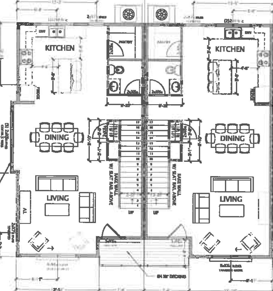 Mixson Row Home Floor Plan 2