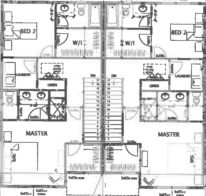 Mixson Row Home Floor Plan 3