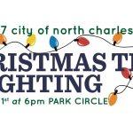Christmas Tree Lighting Park Circle