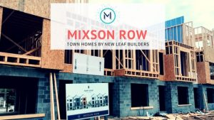 Mixson Row - Townhomes by New Leaf Builders