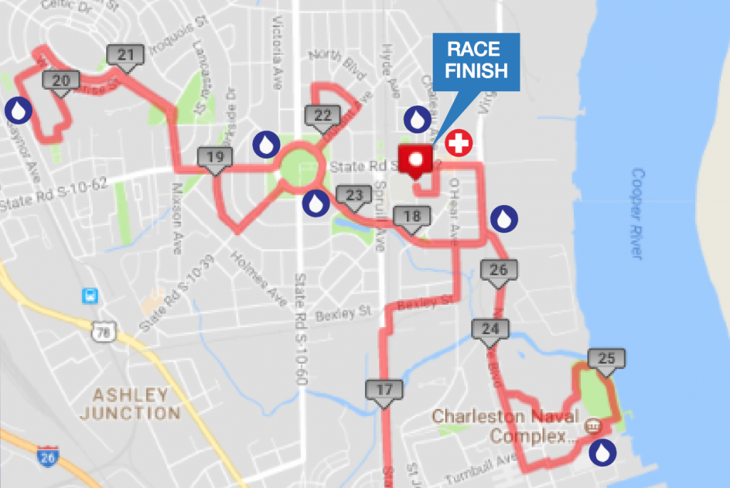 Charleston Marathon Park Circle Route - Real Deal with Neil
