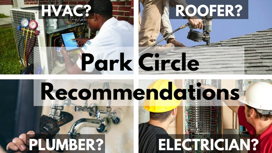 Park Circle Home Services Recommendations