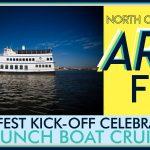 North Charleston Arts Fest – Brunch Boat Cruise
