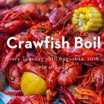 Tuesday Crawfish Boil at LoLA