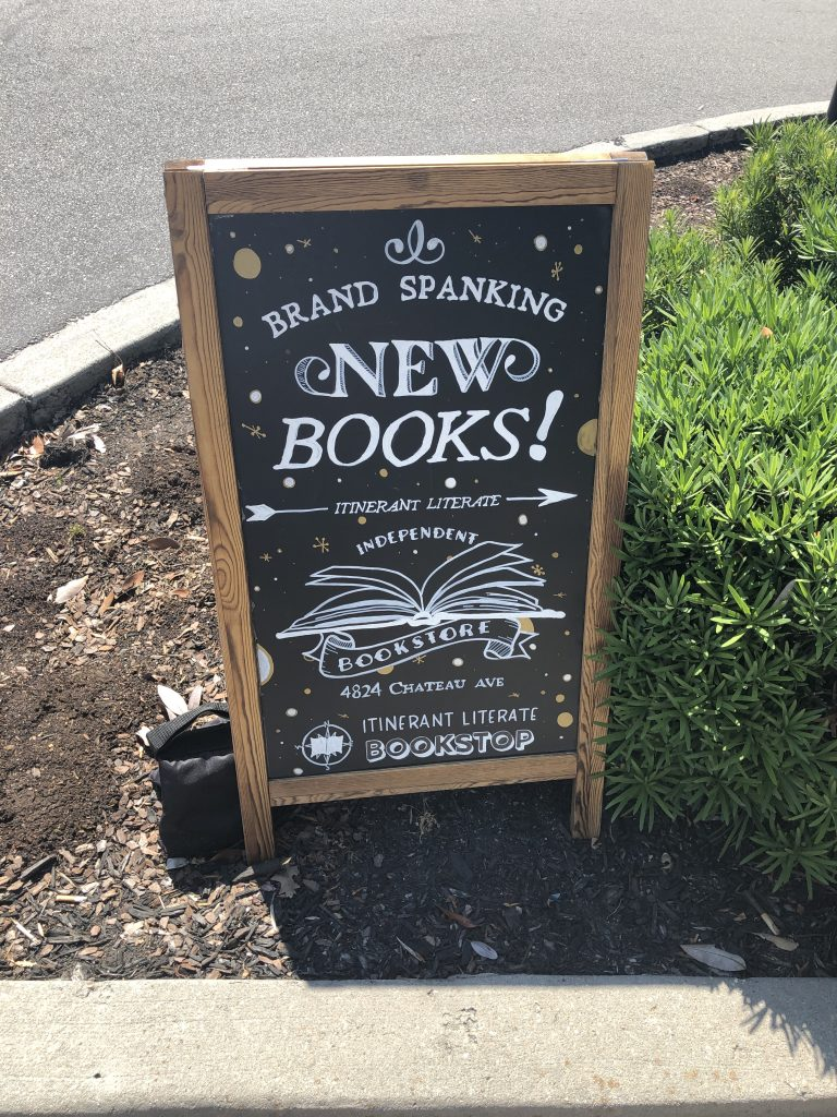 Itinerant Literate Bookstop - Park Circle