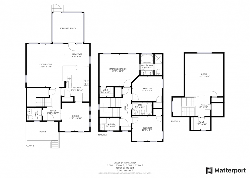 5182 Celtic Dr - Floor Plan