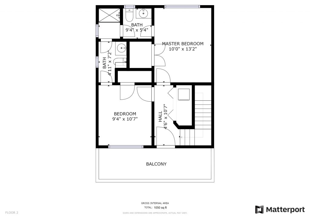 5112 E Liberty Park Circle - Floorplan - Second Floor