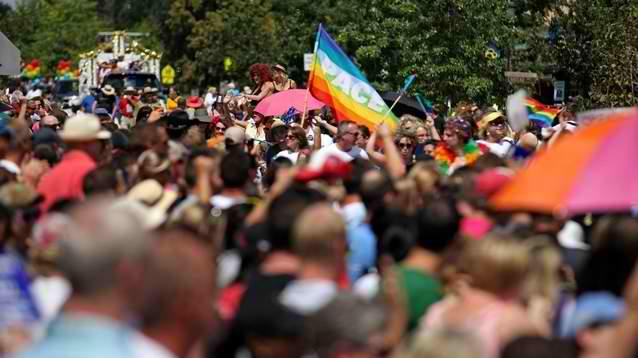 Charleston Pride Parade, Park Circle, North Charleston