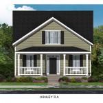 The Ashley Floor Plan - Crescent Homes - Oak Terrace Preserve