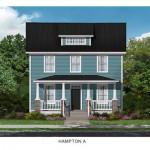 The Hampton Floor Plan - Crescent Homes - Oak Terrace Preserve