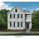 The Magnolia Floor Plan - Crescent Homes - Oak Terrace Preserve