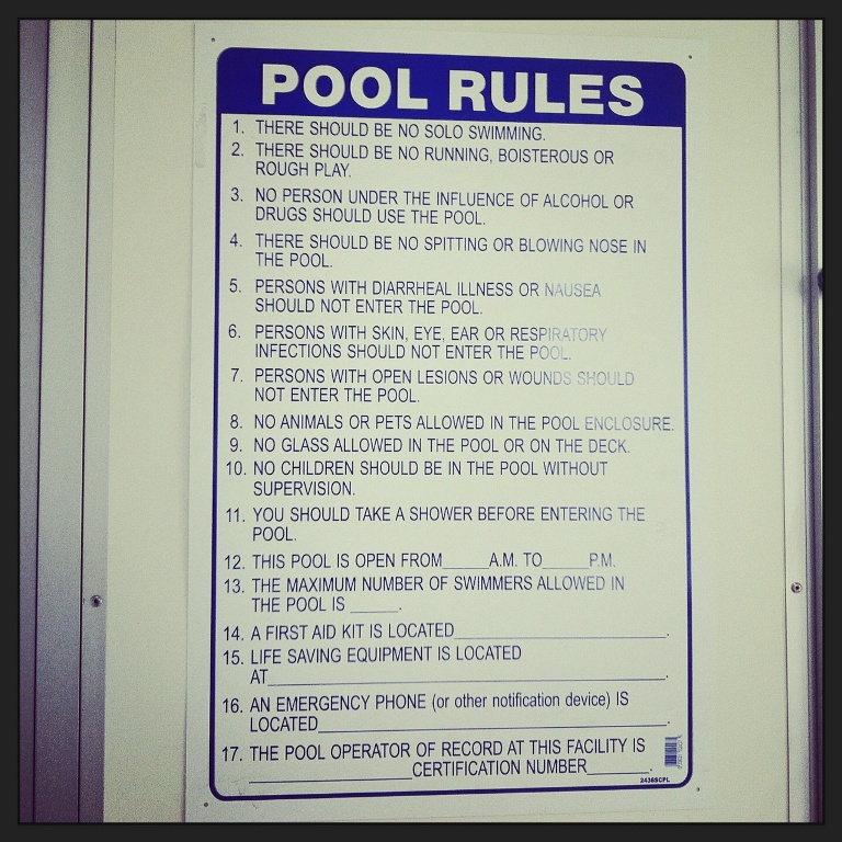 Danny Jones Pool Rules - Park Circle - Real Deal with Neil