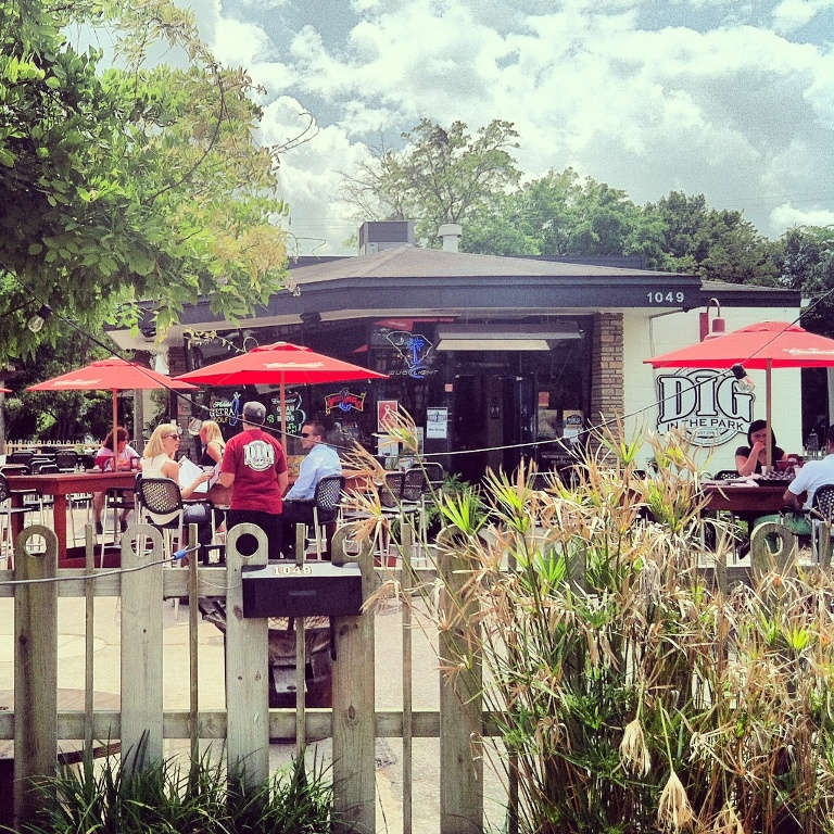 Dig in the Park - Park Circle - Outdoor Patio - Real Deal with Neil