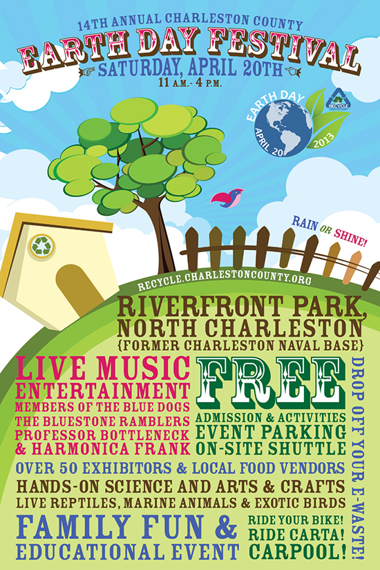 2013 Charleston County Earth Day Festival - Riverfront Park - Real Deal with Neil