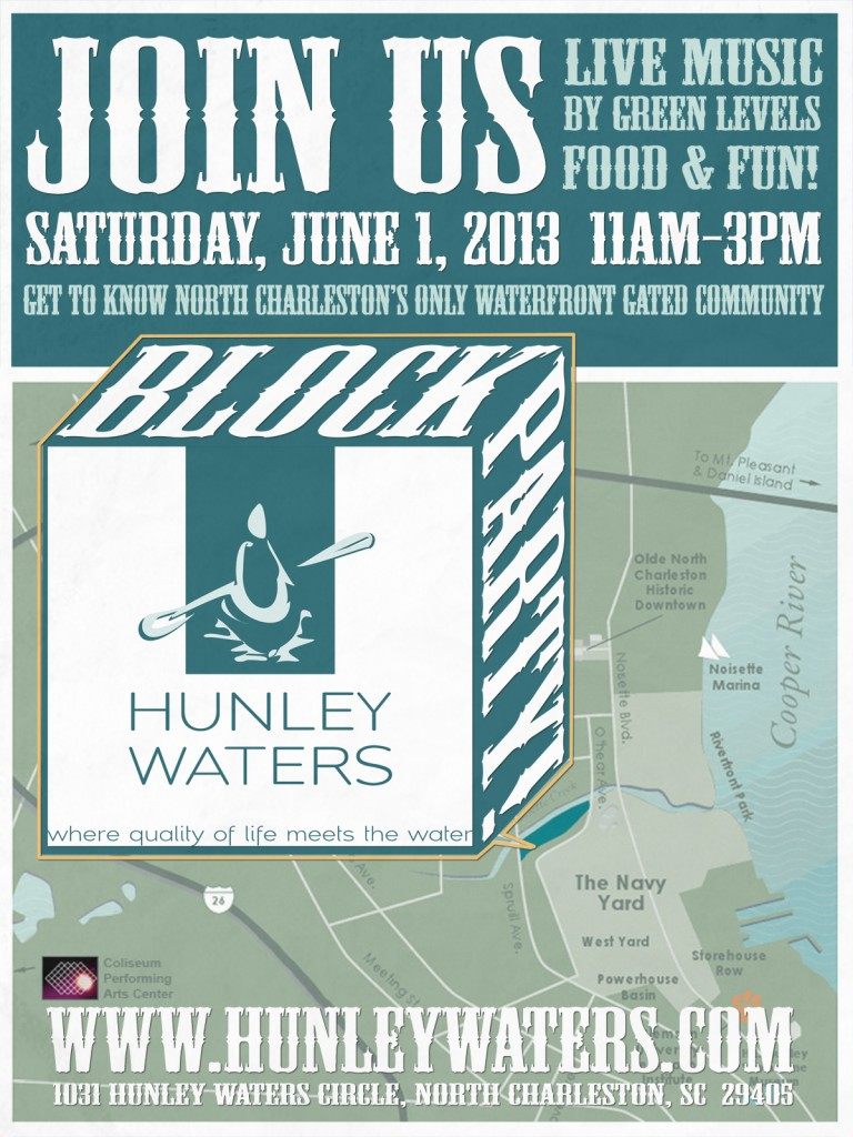 Hunley Waters Block Party! - June 1, 2013 - Real Deal with Neil