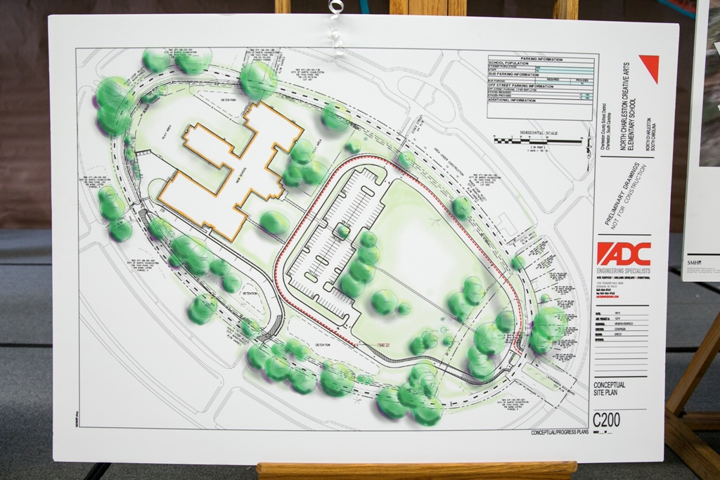 North Charleston Creative Arts Elementary Site Plan
