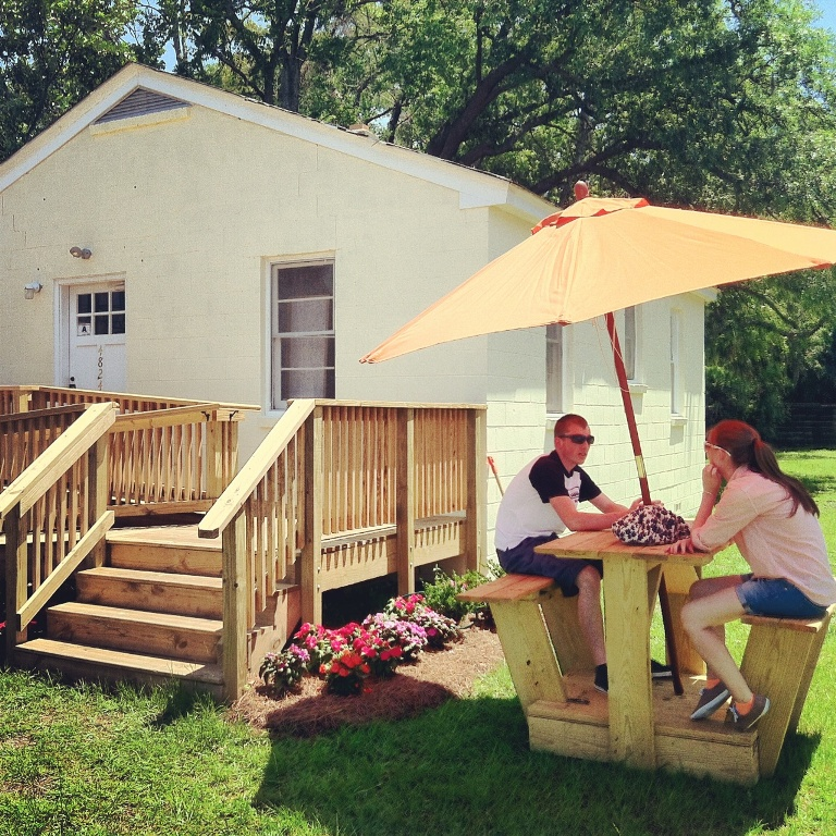 Orange Spot - Park Circle - Garden - Real Deal with Neil