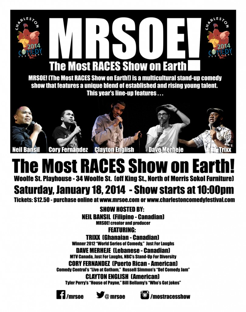 Charleston Comedy Festival 2014 presents MRSOE!
