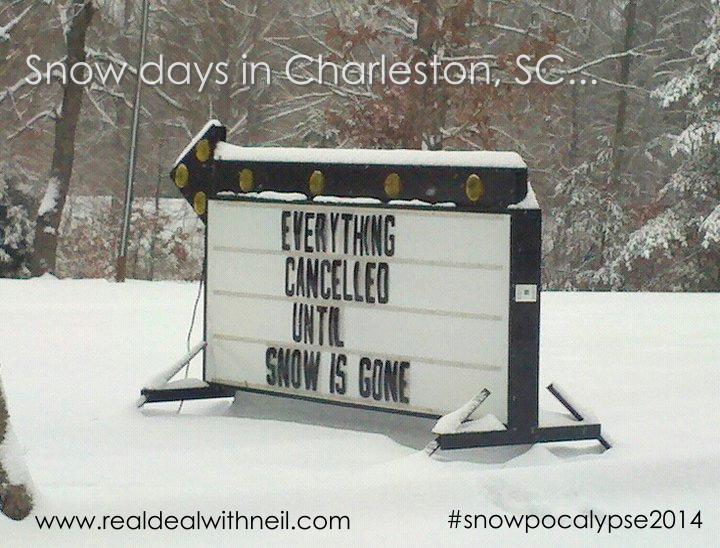 Charleston Snowpocalypse 2014