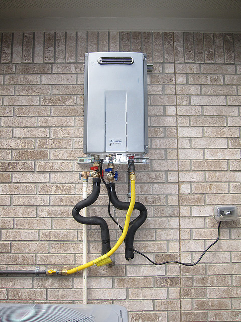 Frozen Pipes - Tankless Water Heater