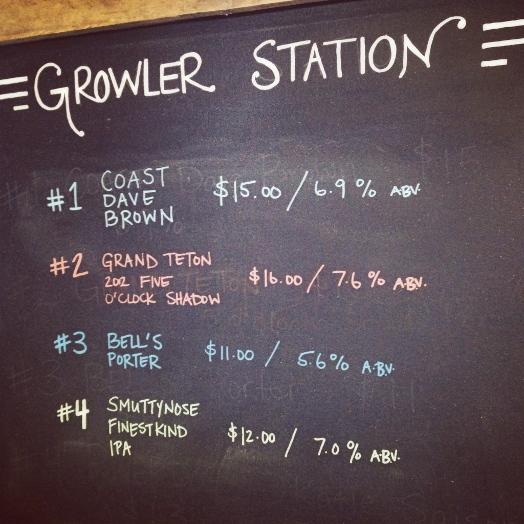 The Brew Cellar - Park Circle - Growler Station