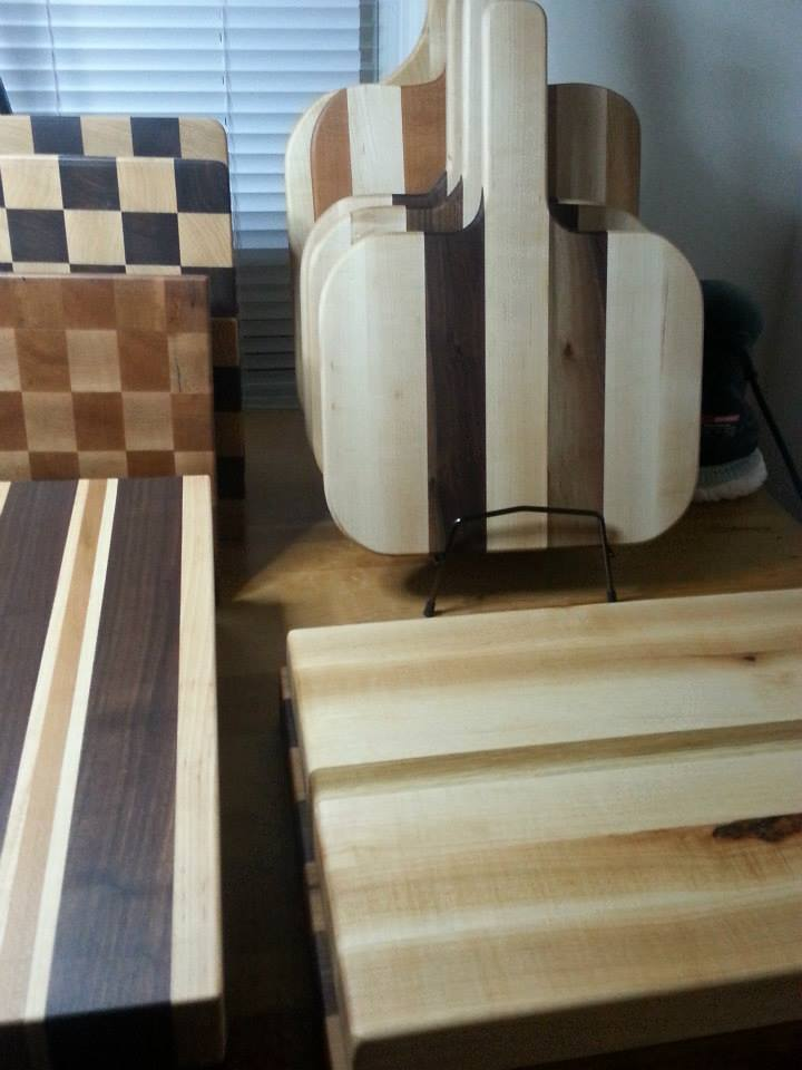Sawdust Wood Co. Cutting Boards