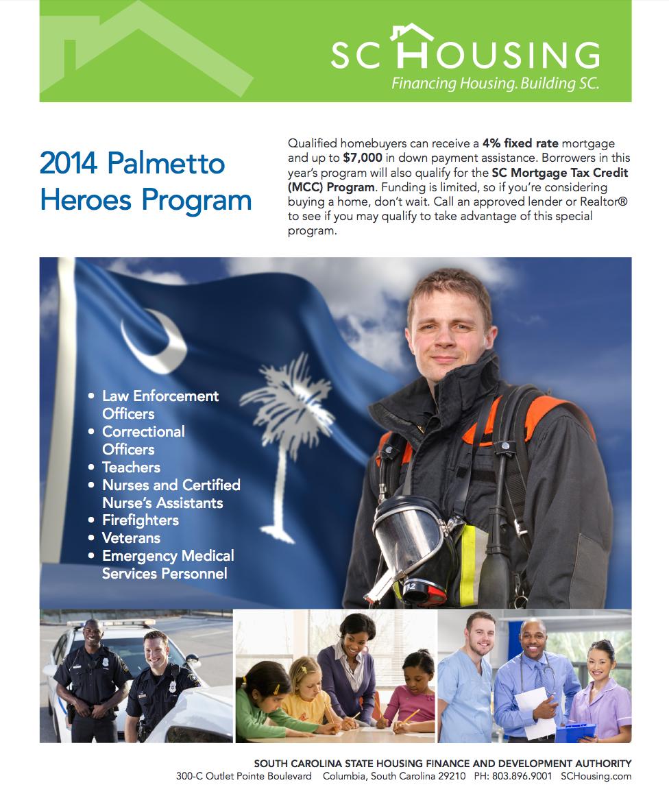 2014 Palmetto Heroes Program