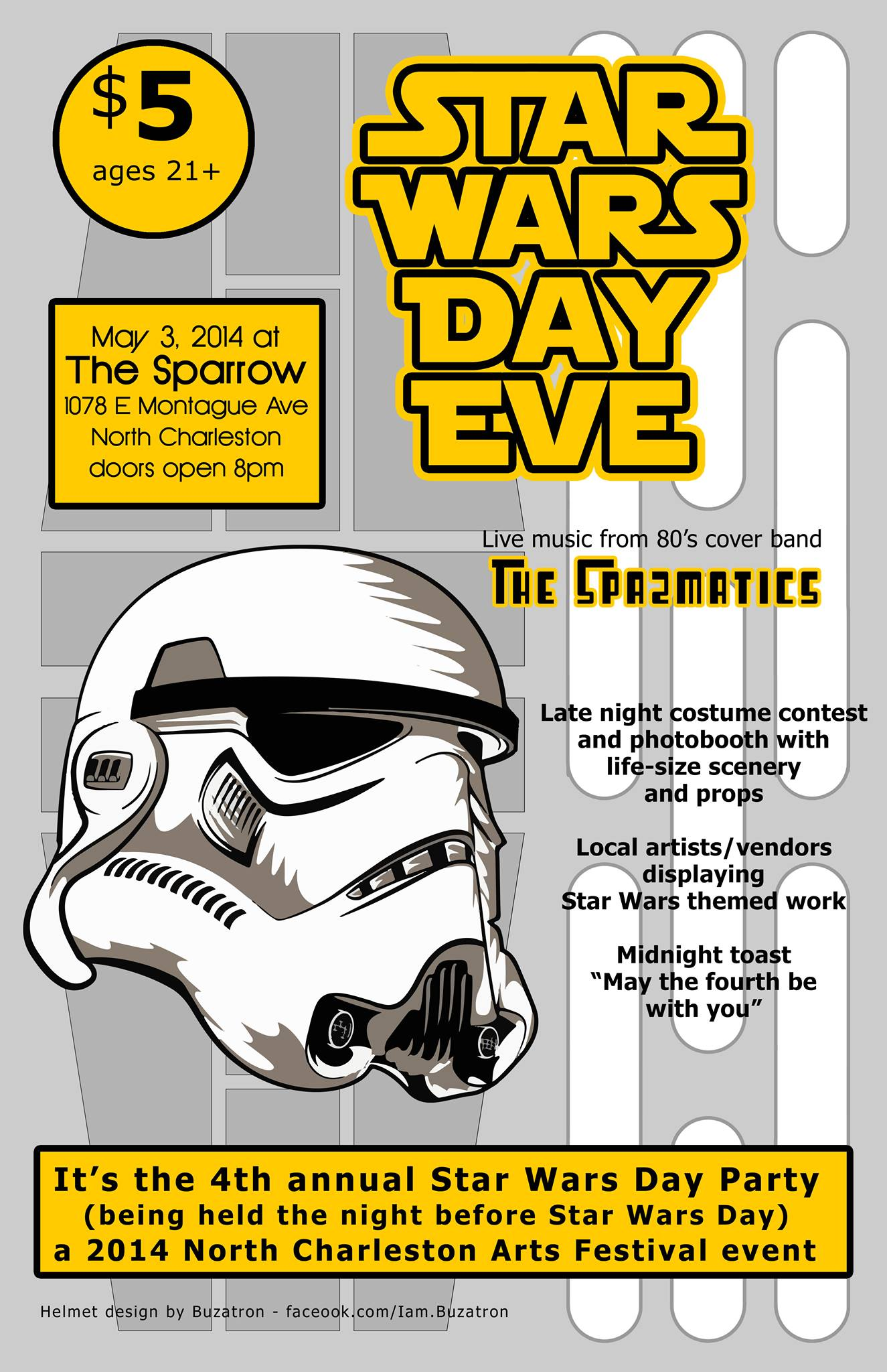 Star Wars Day Eve @ The Sparrow - May 3, 2014