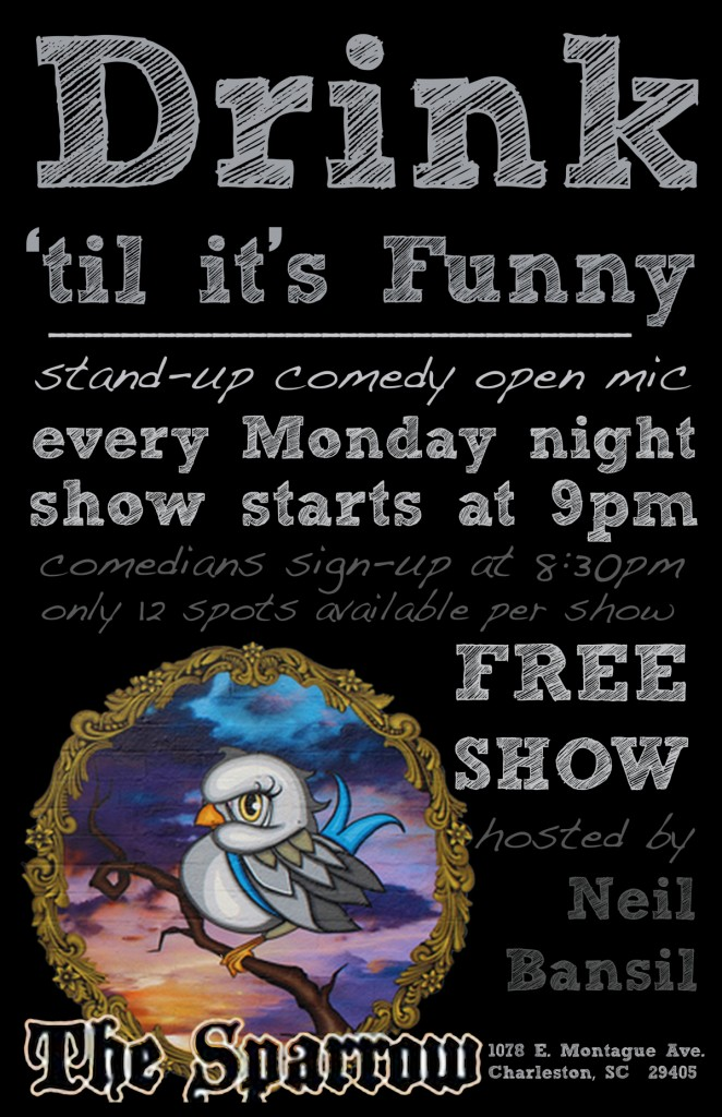 Open MIc Comedy @ The Sparrow