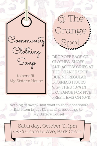 Community Clothing Swap at The Orange Spot