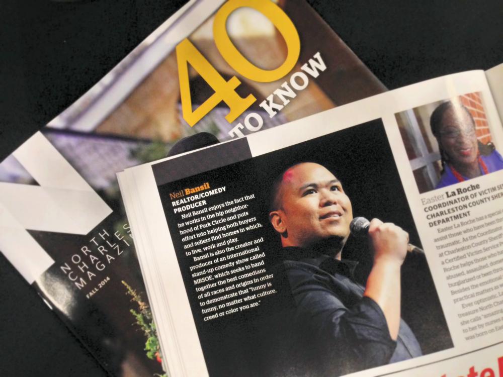 40 to Know - Neil Bansil - North Charleston Magazine Fall 2014