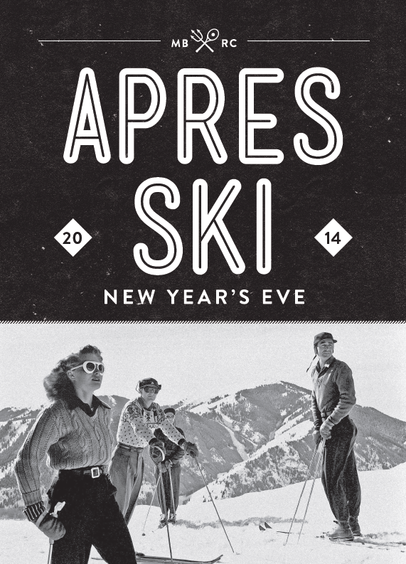 Apres Ski New Years Eve Party 2014 - Mixson Bath and Racquet Club
