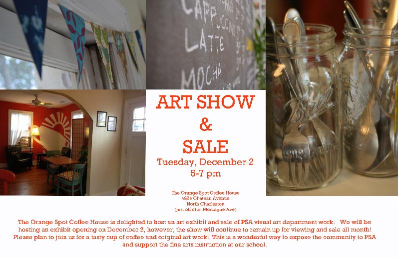Drawn to Digital Art Show & Sale - Orange Spot Coffee House