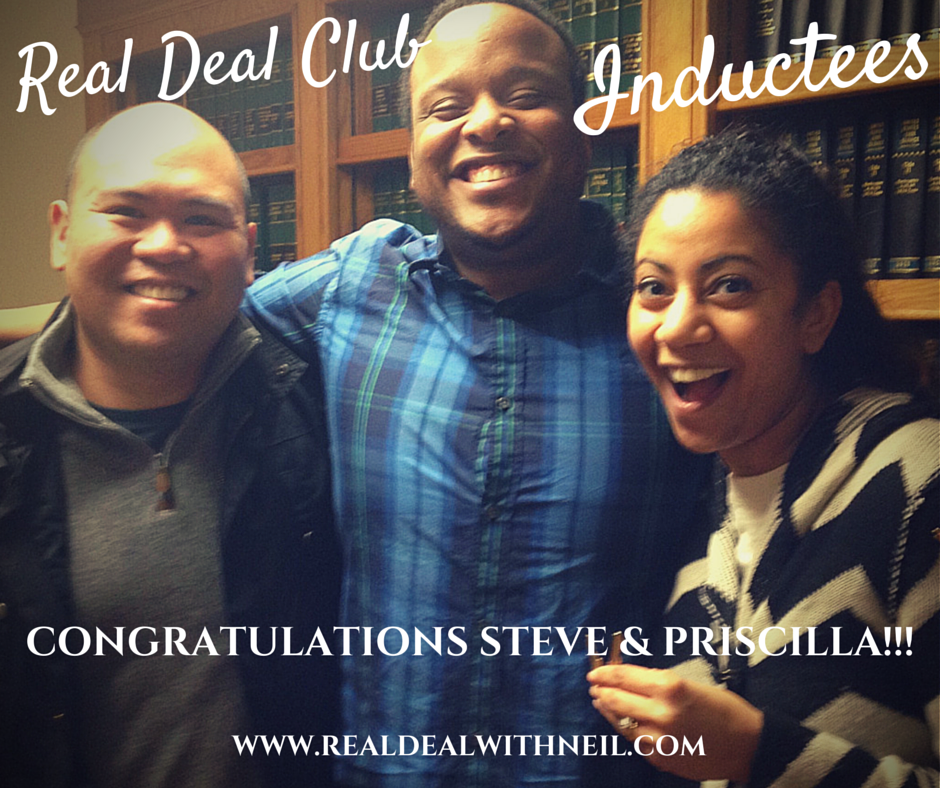 Real Deal Club Inductee: Steve & Priscilla
