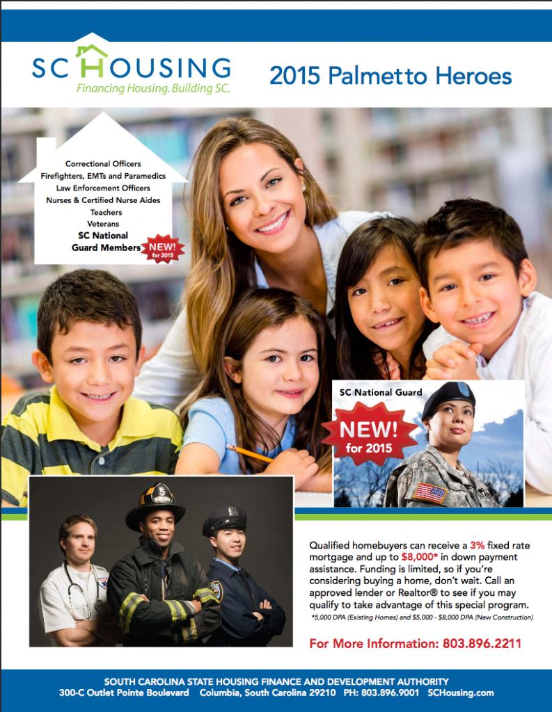 2015 Palmetto Heroes Program