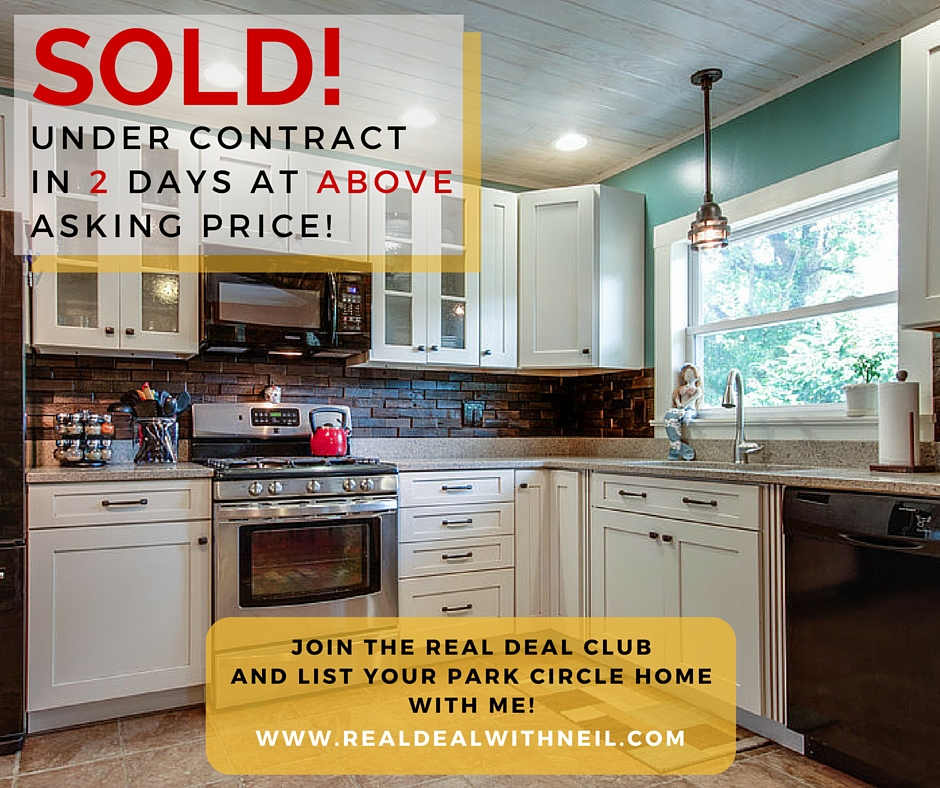 SOLD 1219 South Boulevard - Park Circle