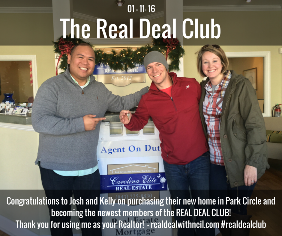 Real Deal Club - Josh and Kelly