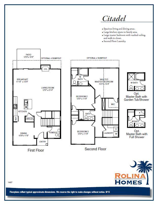 Garco Cottages - Citadel B Floor Plan