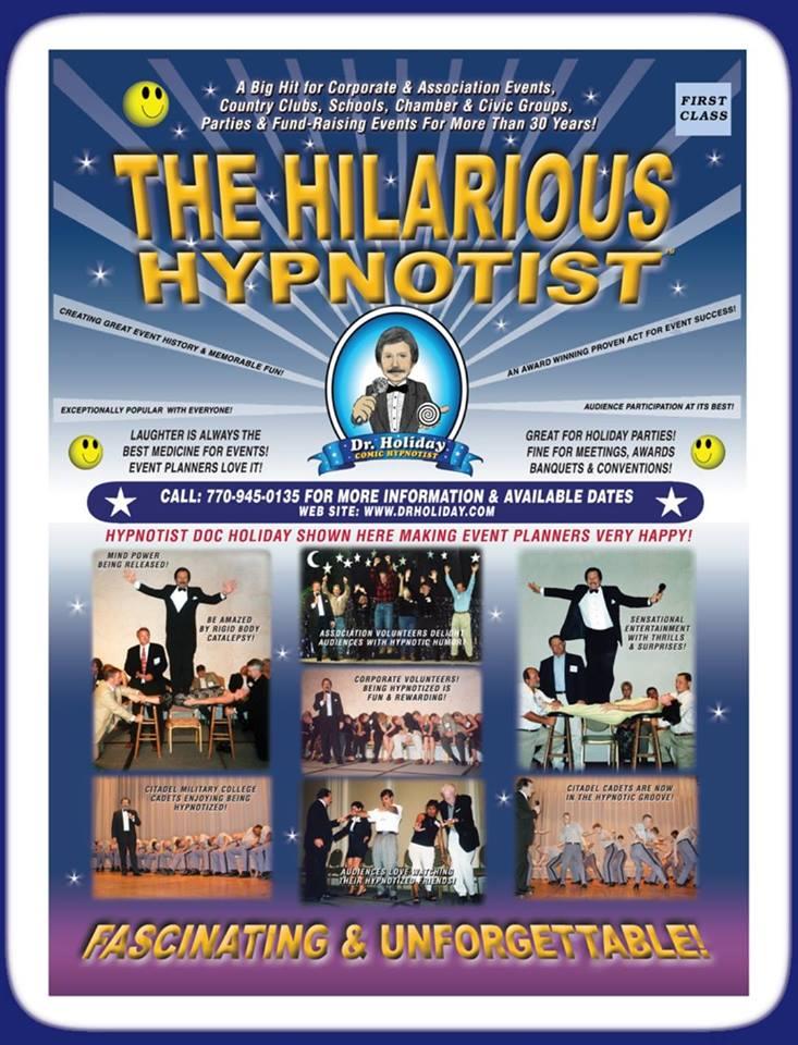 Doc Holiday Comedy Hypnotist
