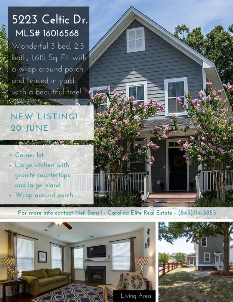 5223 Celtic Drive - Oak Terrace Preserve Home for Sale