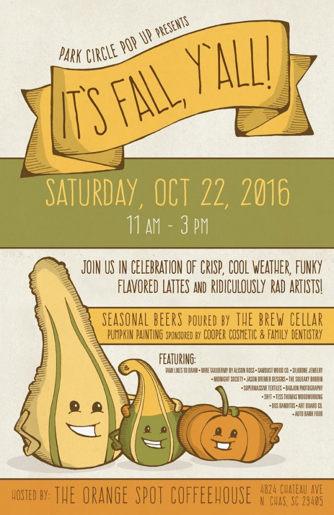 Park Circle Pop Up - It's Fall Y'All!