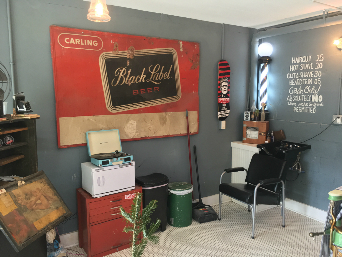 Holy City Barber Interior - Mixson