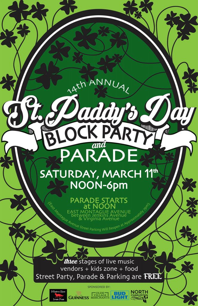 14th Annual St. Paddy's Day Block Party and Parade - Park Circle