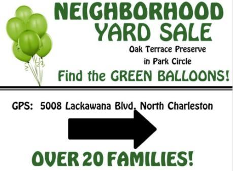 Oak Terrace Preserve Neighborhood Yard Sale