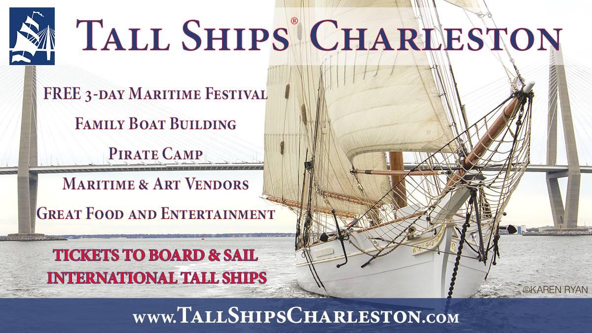 Tall Ships Charleston 2017