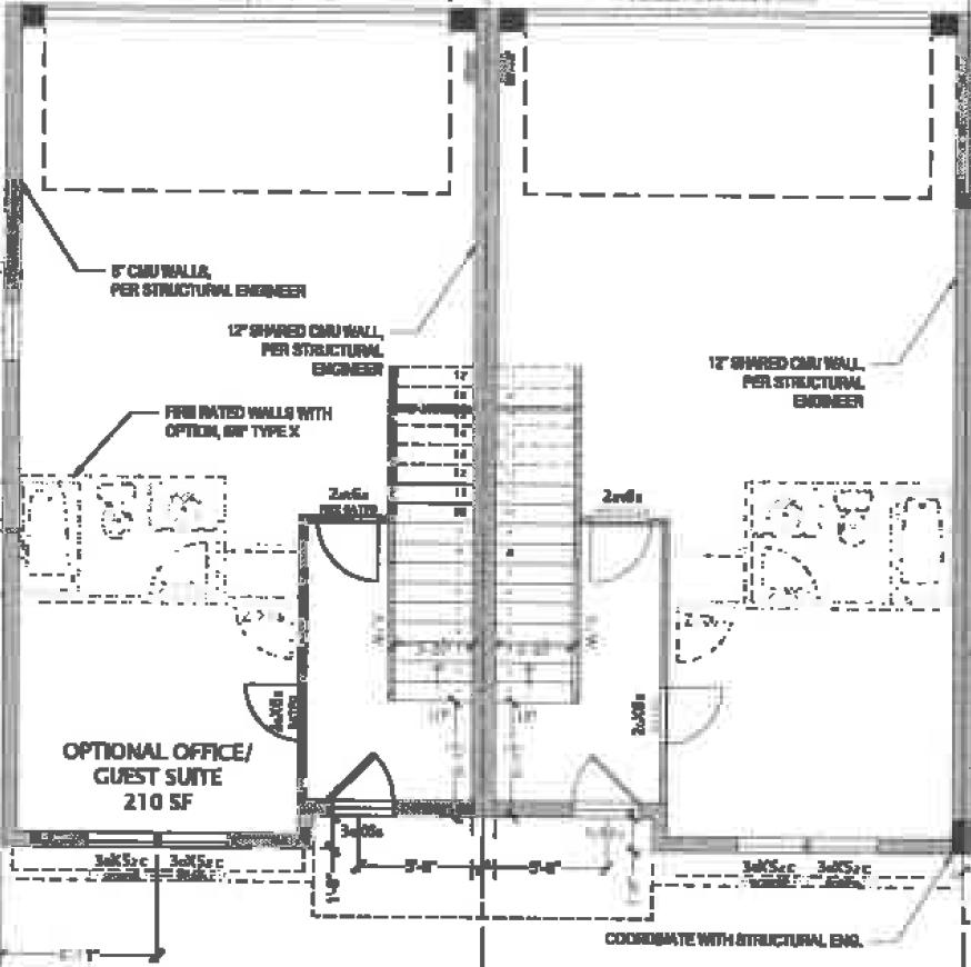 Mixson Row Home Floor Plan 1