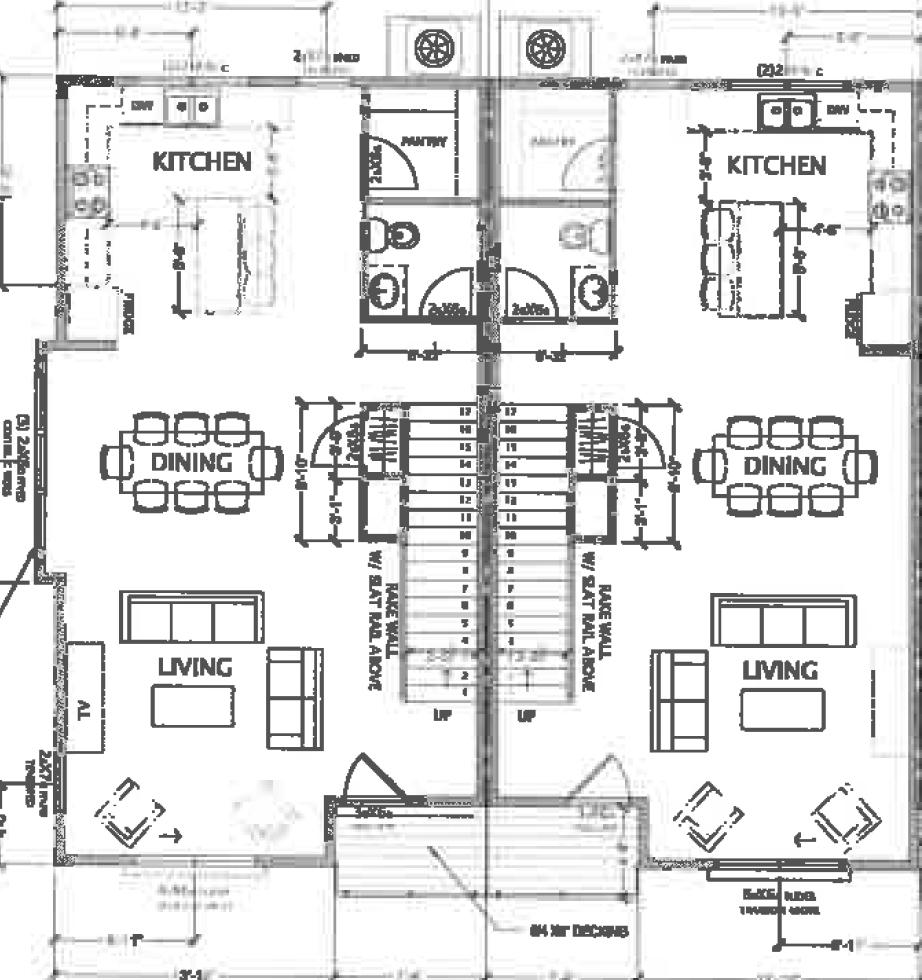 Mixson Row Home Floor Plan 2